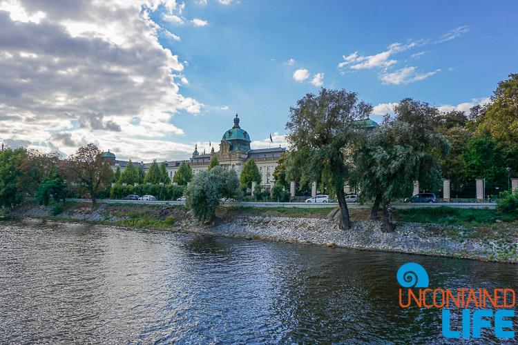 Vltava River, Prague, Czech Republic, Uncontained Life