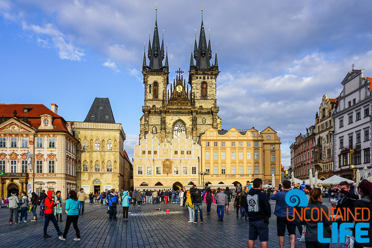 Old Town Square, Prague, Czech Republic, Uncontained Life