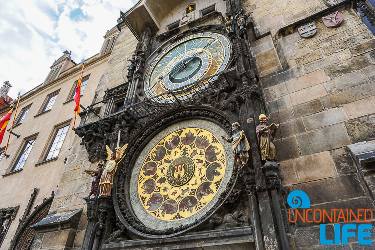 Astronomical Clock, Prague, Czech Republic, Uncontained Life