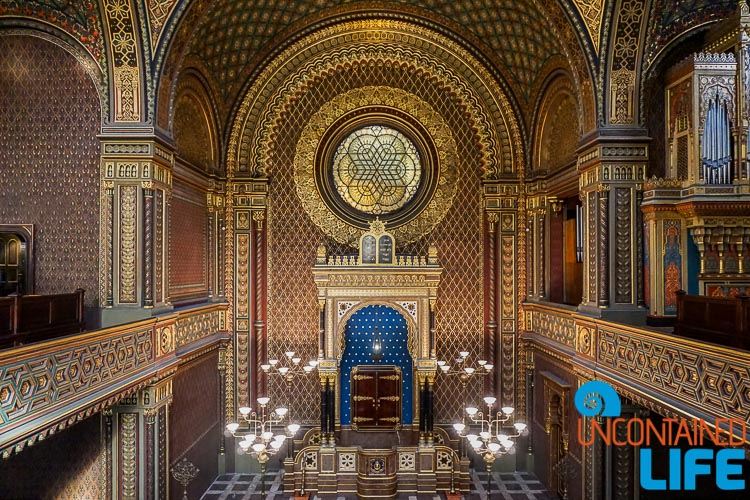 Spanish Synagogue, Prague, Czech Republic, Uncontained Life
