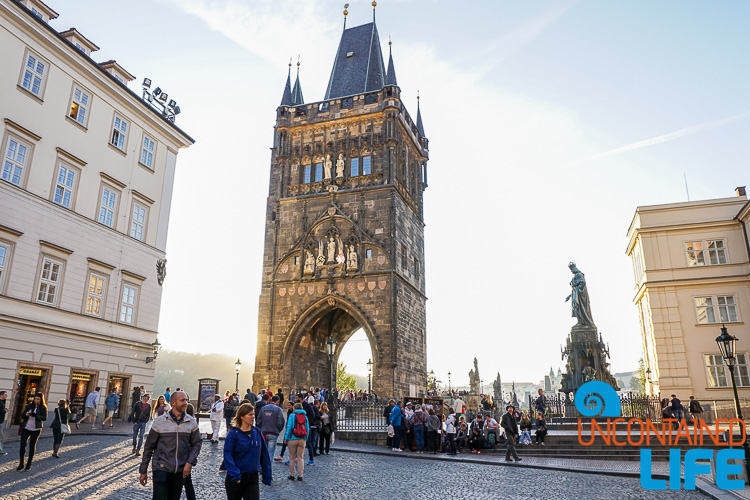 Charles Bridge Tower, Prague, Czech Republic, Uncontained Life