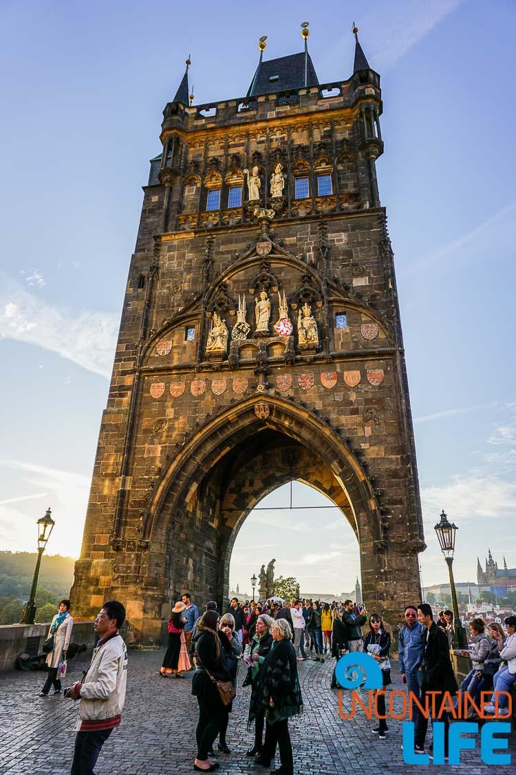 Charles Bridge Tower, Prague, Czech Republic, Uncontained Life