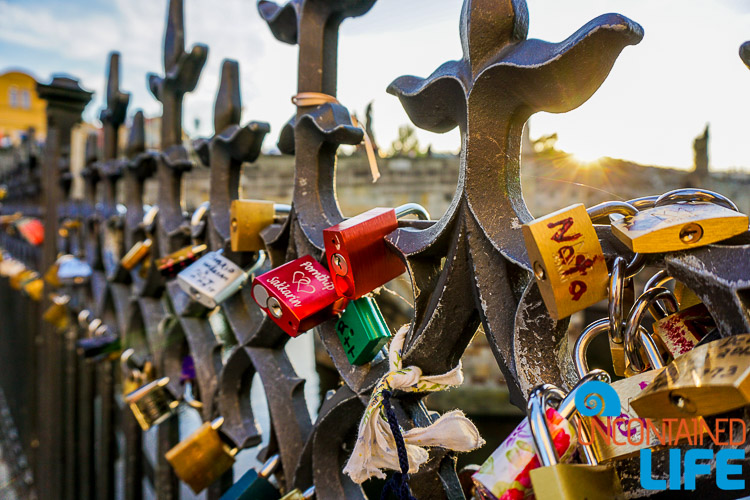 Locks, Bridge, Prague, Czech Republic, Uncontained Life