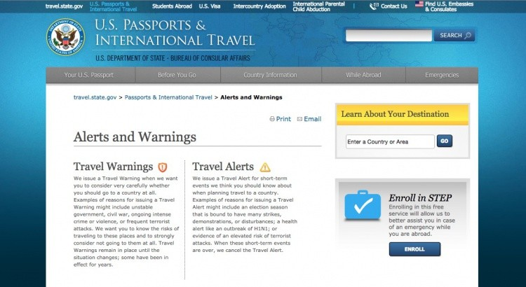 U.S. Department of State Travel Warnings Screenshot__1444854963_83.131.189.94
