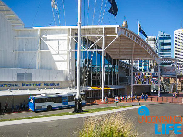 Maritime Museum, Inexpensive Activities in Sydney, Australia, Uncontained Life