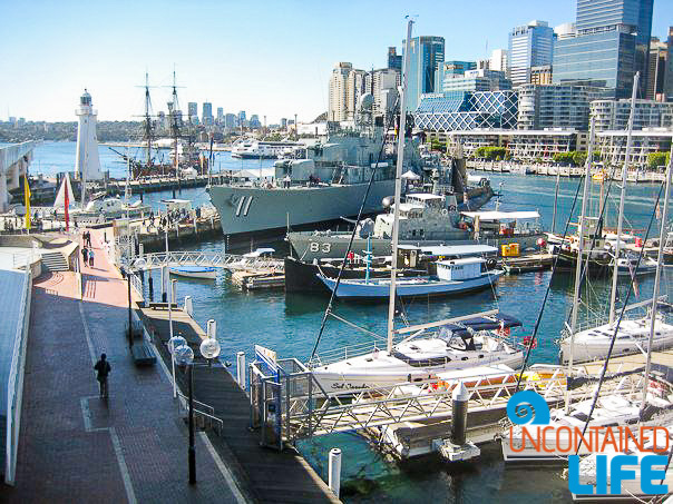 Darling Harbour, Inexpensive Activities in Sydney, Australia, Uncontained Life