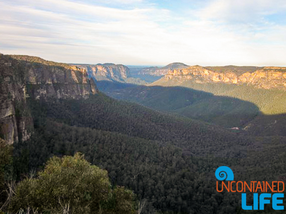 Blue Mountains, Active Adventures, Australia, Uncontained Life