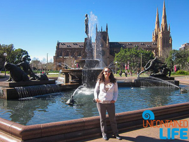 Hyde Park, Inexpensive Activities in Sydney, Australia, Uncontained Life