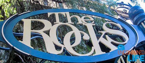 The Rocks, Inexpensive Activities in Sydney, Australia, Uncontained Life