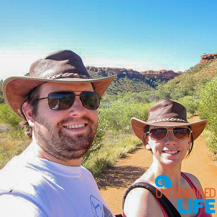 Hiking, King's Canyon, Northern Territory, Active Adventures, Australia, Uncontained Life