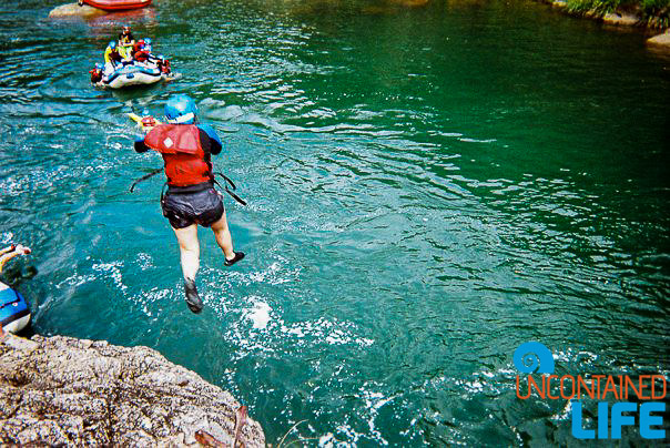 Cliff Jumping, Tully River, Queensland, Active Adventures, Australia, Uncontained Life