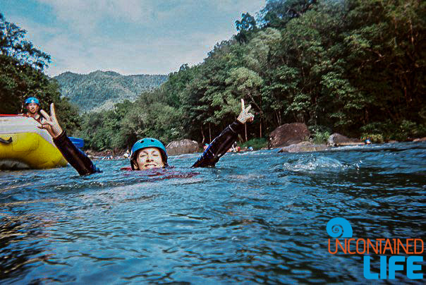 Tully River, Whitewater Rafting, Queensland, Active Adventures, Australia, Uncontained Life