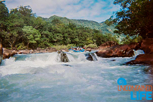 Tully River Whitewater Rafting, Active Adventures, Australia, Uncontained Life