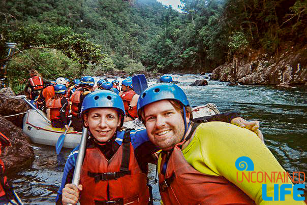 Whitewater Rafting, Active Adventures, Australia, Uncontained Life