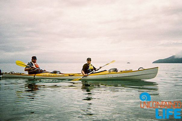 Ocean Kayaking, Mission Beach, Active Adventures, Australia, Uncontained Life