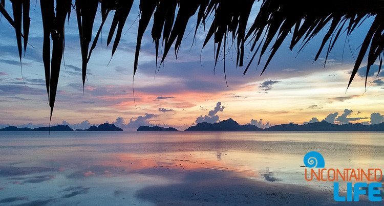 El Nido, Palawan, Philippines, sunset, January travel destinations, Uncontained Life