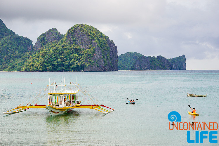 El Nido, Islands, Outrigger, Philippines, January travel destinations, Uncontained Life