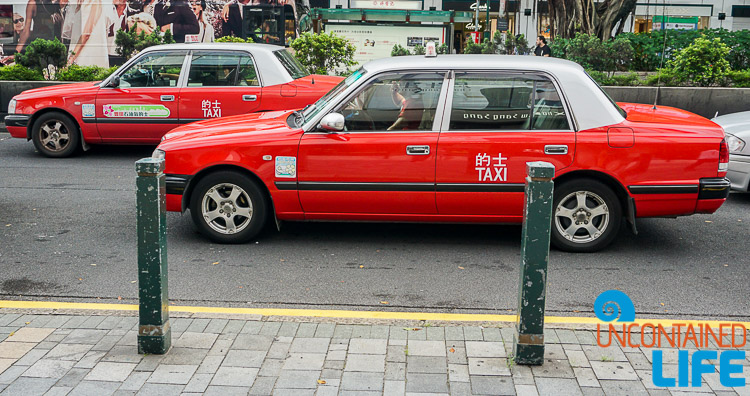 Taxis, things to avoid when visiting Hong Kong, Uncontained Life