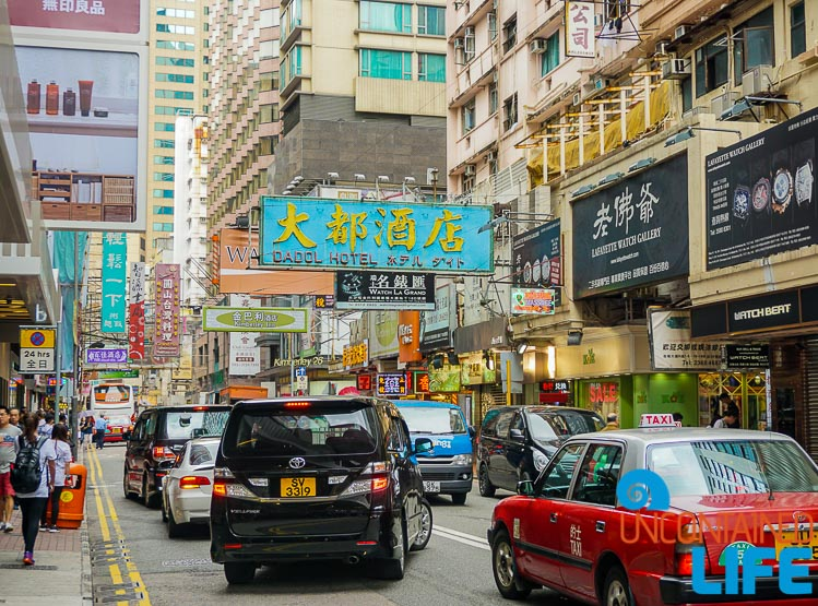 Traffic, things to avoid when visiting Hong Kong, Uncontained Life