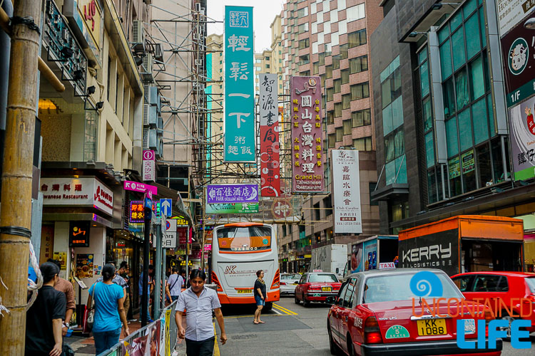 Street Congestion, things to avoid when visiting Hong Kong, Uncontained Life