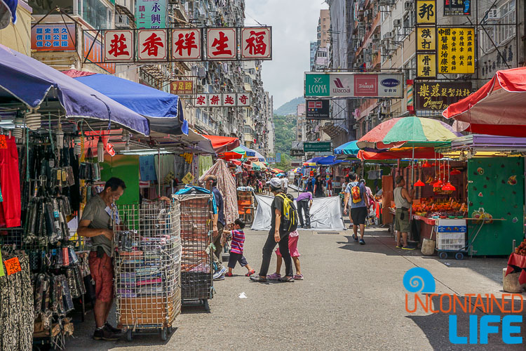 Market, things to avoid when visiting Hong Kong, Uncontained Life