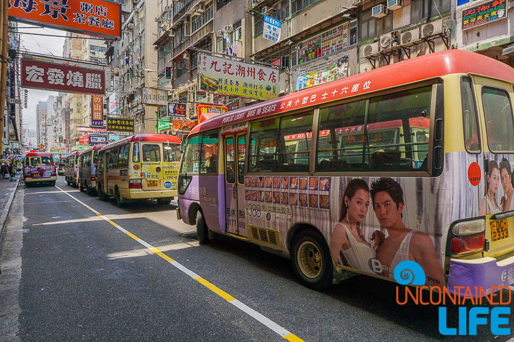 Buses, things to avoid when visiting Hong Kong, Uncontained Life