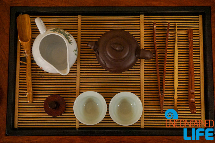 Tea Scam in Shanghai, China, Uncontained Life