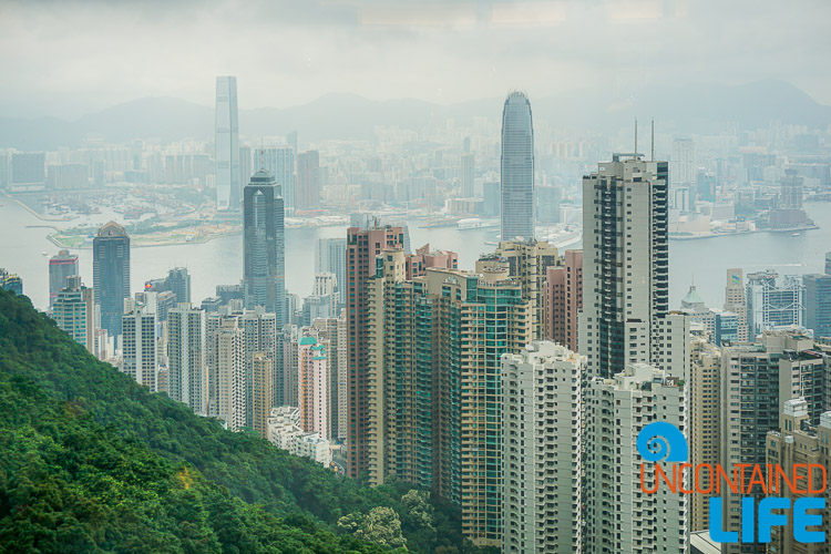 Skyline, smog, things to avoid when visiting Hong Kong, Uncontained Life
