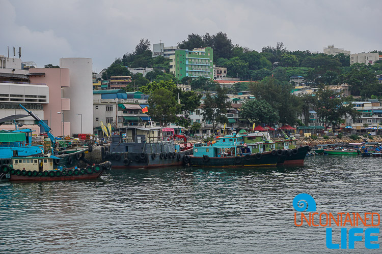 Boats, Day trip to Cheung Chau, Hong Kong, Uncontained Life