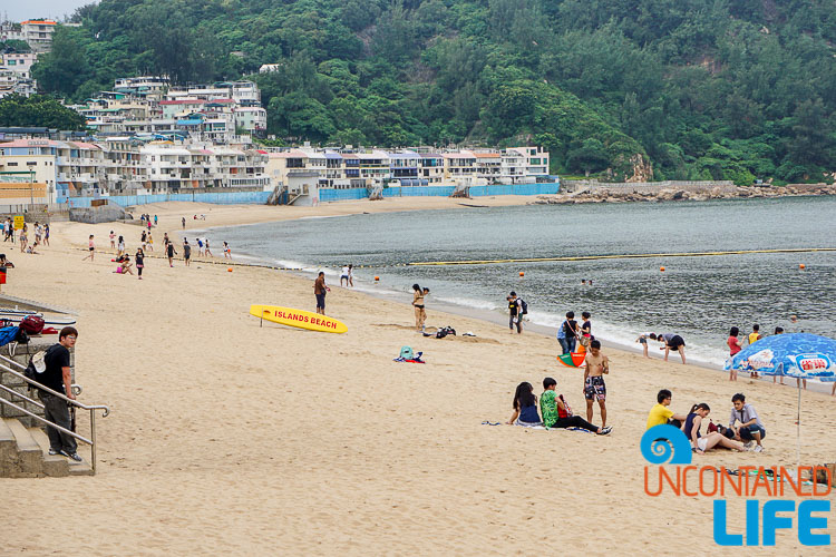 Tung Wan Beach, Day trip to Cheung Chau, Hong Kong, Uncontained Life