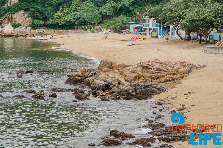 Kwun Yam Beach, Day trip to Cheung Chau, Hong Kong, Uncontained Life