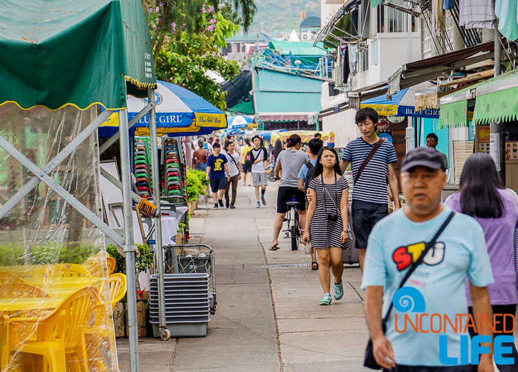 Streets, Day trip to Cheung Chau, Hong Kong, Uncontained Life