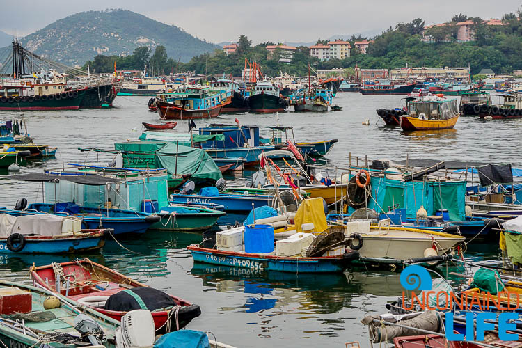 Port, Boats, Day trip to Cheung Chau, Hong Kong, Uncontained Life
