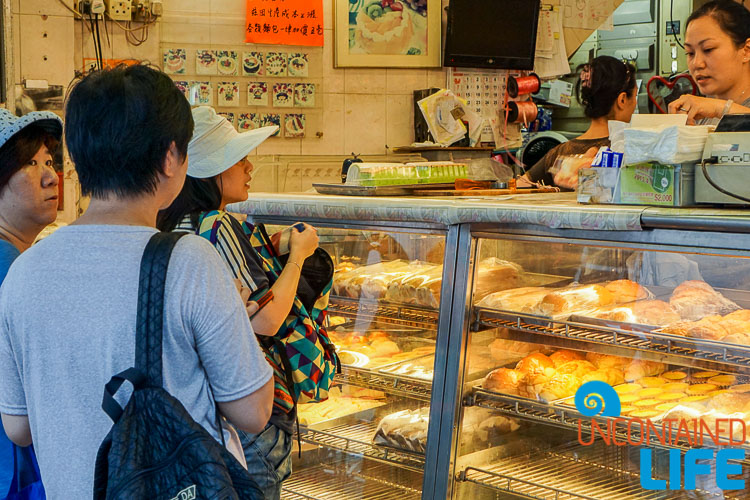 Bakery, Day trip to Cheung Chau, Hong Kong, Uncontained Life