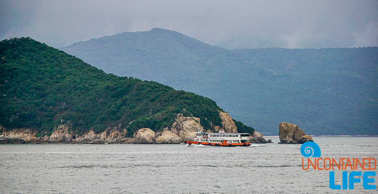 Ferry, Day trip to Cheung Chau, Hong Kong, Uncontained Life