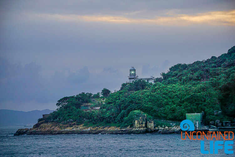 Lighthouse, Day trip to Cheung Chau, Hong Kong, Uncontained Life