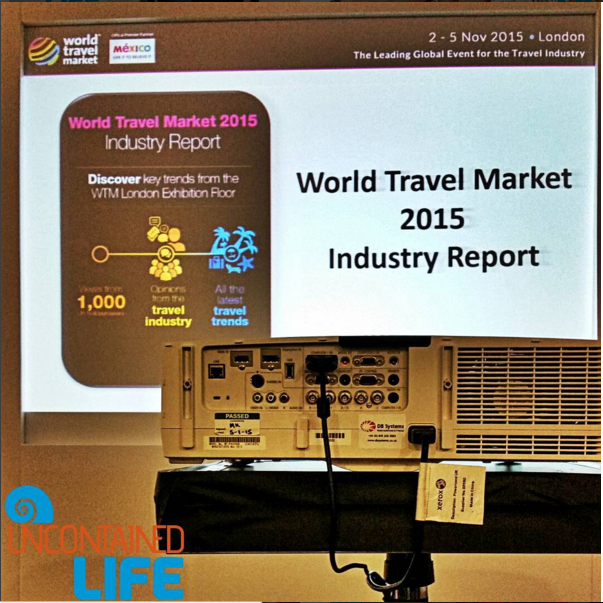 World Travel Market London 2015, Uncontained Life