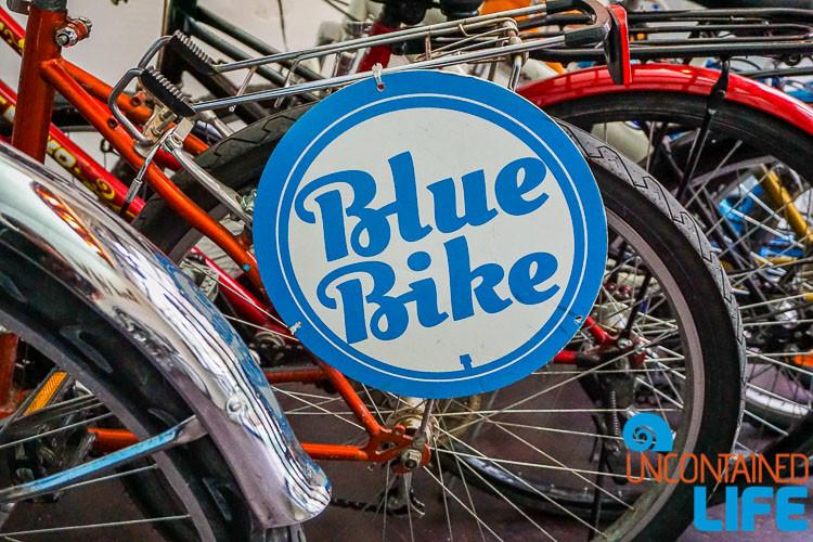 Blue Bike, Visit Zagreb, Croatia, Uncontained Life