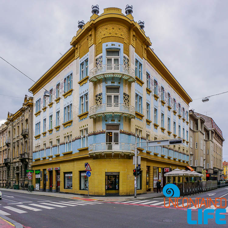 Old Building, exploring central Zagreb, Croatia, Uncontained Life