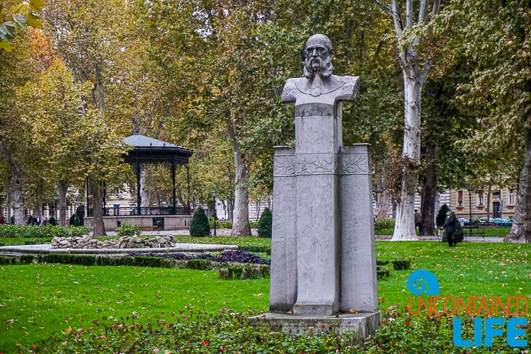Zrinjevac Park, exploring central Zagreb, Croatia, Uncontained Life