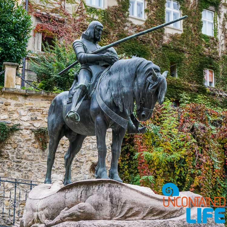 St. George Statue, exploring central Zagreb, Croatia, Uncontained Life