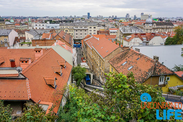 Funicular Railway, exploring central Zagreb, Croatia, Uncontained Life