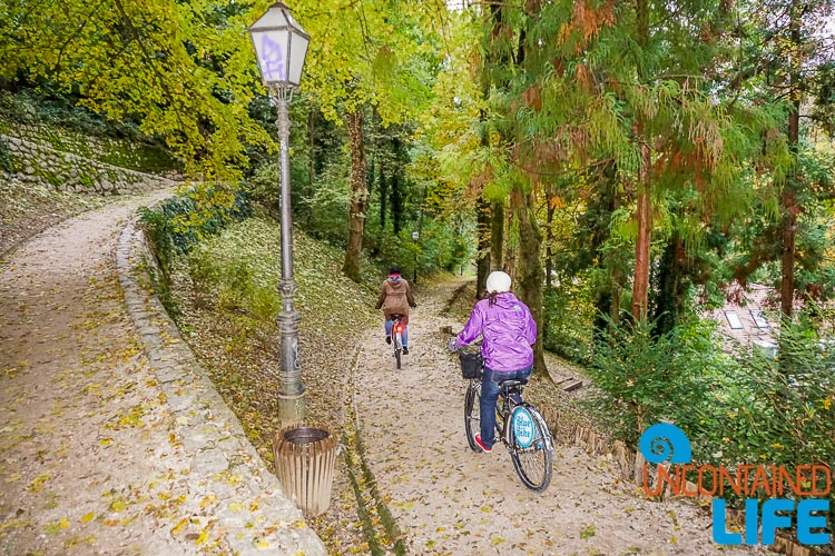 Forest Park, Blue Bike, exploring central Zagreb, Croatia, Uncontained Life