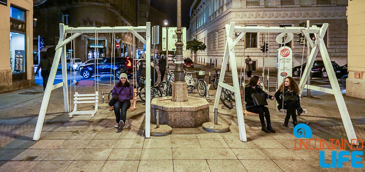City Swing, exploring central Zagreb, Croatia, Uncontained Life
