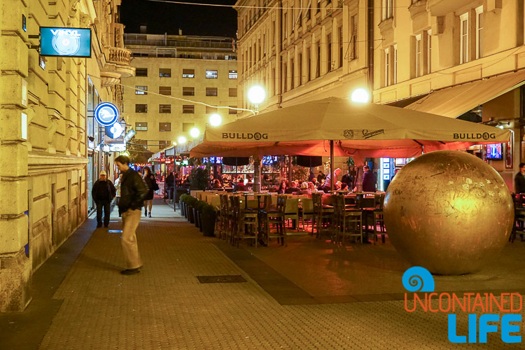 Night Coffee Shops, exploring central Zagreb, Croatia, Uncontained Life