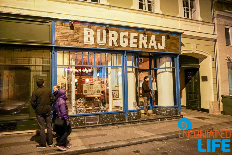 Burgeraj, exploring central Zagreb, Croatia, Uncontained Life
