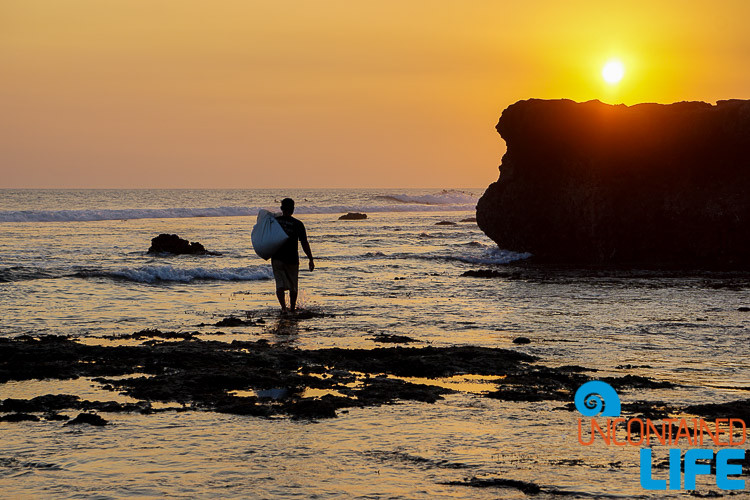 Crab Hunter, Echo Beach, Sunset, Silhouette, Explore Canggu, Bali