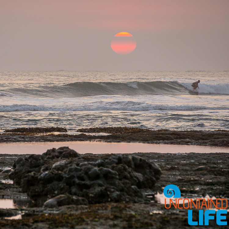 Surfing, Echo Beach, Sunset, Explore Canggu, Bali