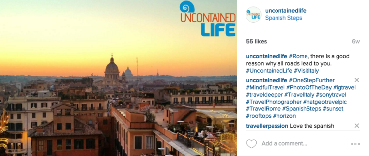 Instagram, Italy, Sony a6000, my everyday camera, Uncontained Life