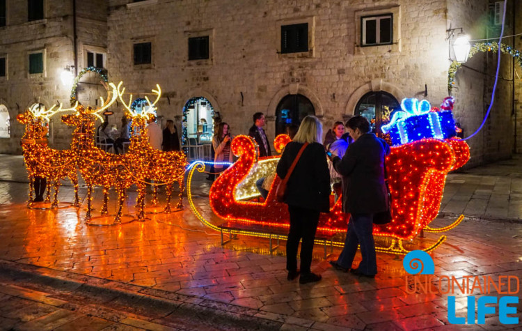 Sleigh Ride, Christmas in Dubrovnik, Croatia, Uncontained Life